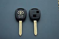 Корпус авто ключа Toyota Avensis, Yaris (Тойота Авенсис, Ярис) 3 кнопки, лезвие TOY47