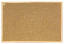 Доска джутовая 2x3 ECO в деревянной рамке 40 x 60 см