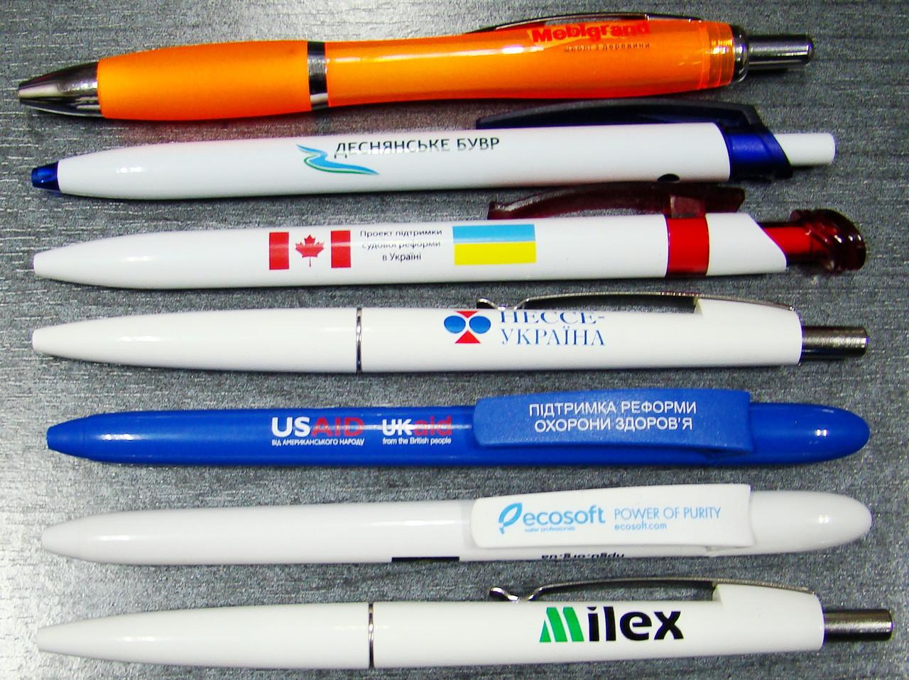 Печать на ручках, тампопечать