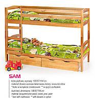 Кровать детская двухярусная SAM