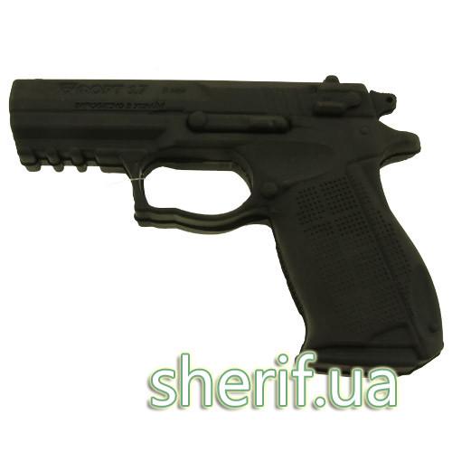 Пистолет тренировочный резиновый форт-17 12735