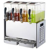 Диспенсер (сокоохладитель) для сока - 4 х 10 литров