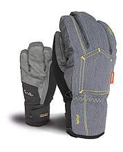 Гірськолижні рукавички level glove M rocker jeans розмір - 8.5 (M/L)
