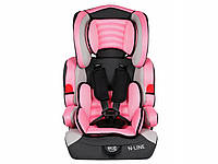 Автокресло Kindersafety N-LINE Pink 9-36 кг KP0039
