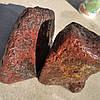 Галька валун з вулканического камня