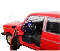 Металическая машинка 2106 Автопром красная