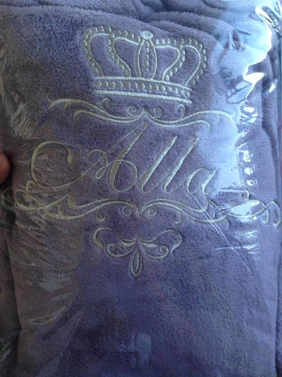 Вышивка на халатах (махровых, банных, медицинских)