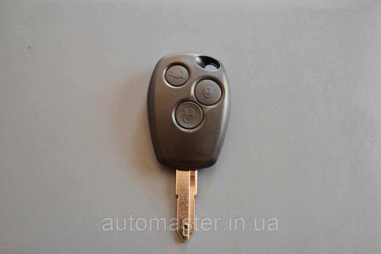 Корпус ключа для RENAULT Traffic (Рено Трафік) 3 кнопки, лезо NE 73