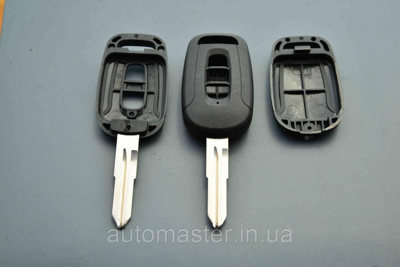 Корпус ключа для шевролет каптива (CHEVROLET CAPTIVA) 2 кнопки