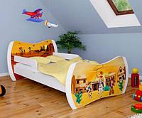 Детская односпальная кровать DREAM L01 140/70 – DM12