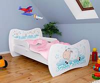 Детская односпальная кровать DREAM L01 140/70 – DM13