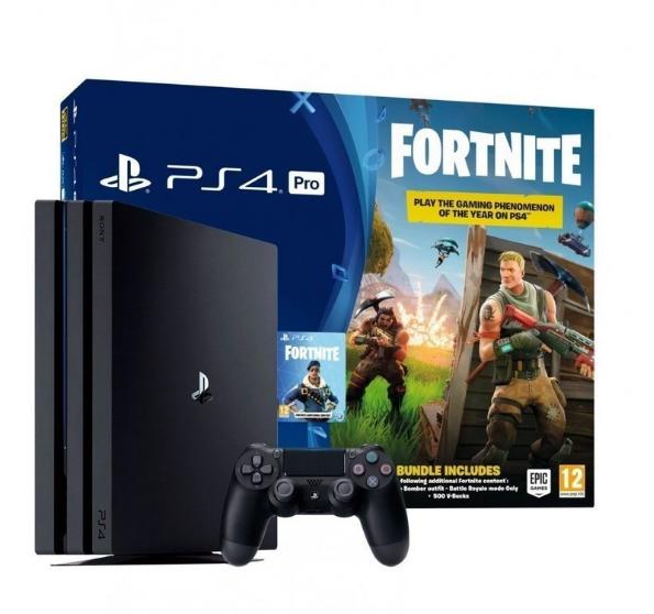 Игровая консоль Sony PlayStation 4 Pro 1TB + Fortnite (Black)