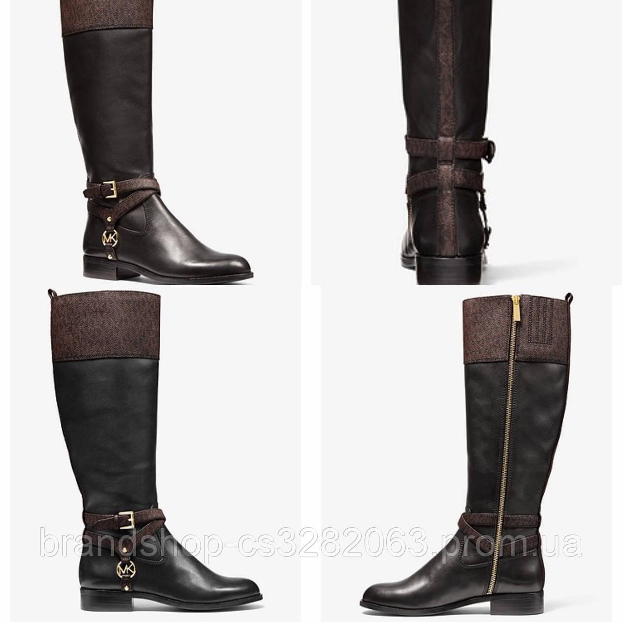 Чоботи жіночі Michael Kors Preston two-tone boot