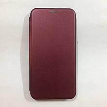 Чехол-книжка Xiaomi Mi 9 Lite Level Marsala