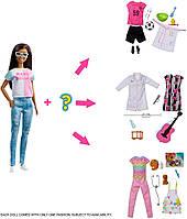 Лялька Барбі Я можу бути кар'єра сюрприз Barbie Surprise Careers. Брюнетка, фото 1