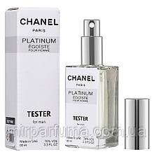 Мужской тестер Chanel Platinum Egoiste 60 ml