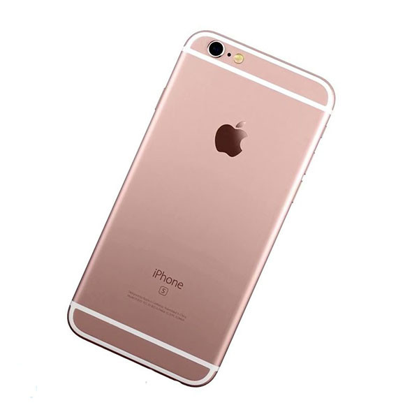 Корпус (задняя крышка) для Apple iPhone 6s (Розовое золото) (Качество ААА)