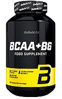 Амінокислоти BioTech - BCAA+B6 (200 таблеток)
