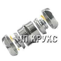 Соединитель металлорукав-металлорукав, IP67