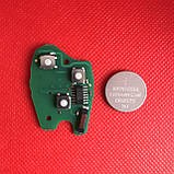 Ключ Рено Renault 2 кнопки лезвие VAC102 PCF7947 ID46 434Mhz., фото 3