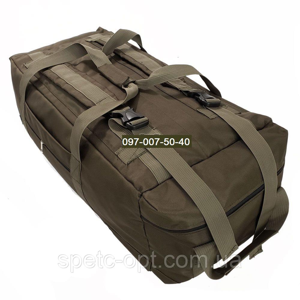 Сумка- рюкзак тактический Cordura 1000г/м² на 100л. (Койот)