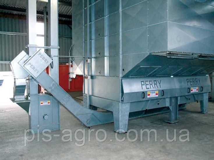 Изогнутый конвейер с глубокими скребками Perry