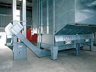 Изогнутый конвейер с глубокими скребками Perry, фото 1