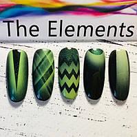 Трафарет для аэрографии на ногтях Элементы
