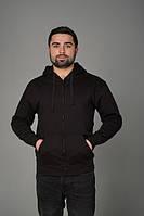 Мужской реглан с капюшоном JHK HOODED SWEATSHIRT цвет черный (BK)