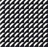 200Х200 Керамічна плитка стіна Фрістайл 5М чорно-білий, фото 2