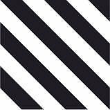 200Х200 Керамічна плитка стіна Фрістайл 5М чорно-білий, фото 5