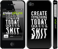 "Чехол на iPhone 4s Create Something Today 3 ""2151c-12"""