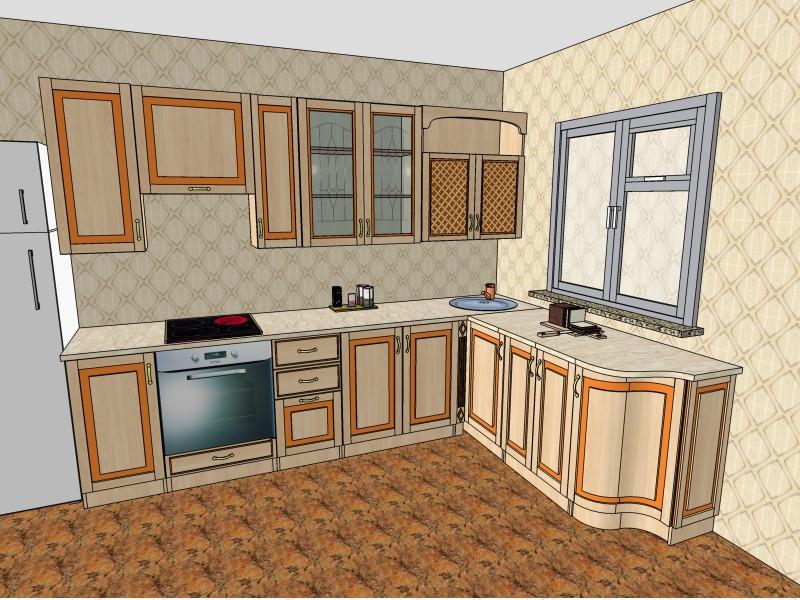 Кухня Юля Нова в Деражне