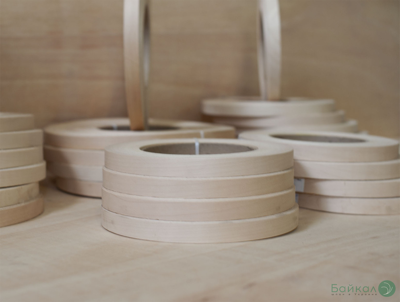 Кромка мебельная Клен (натуральная) - без клея