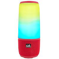 ✓Колонка LZ Pulse P3 Red прочный корпус музыкальная портативная компактная для поездок
