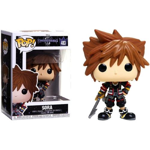 Фигурка Funko Pop Фанко Поп Сора Королевство Сердец Games Kingdom Hearts Sora 10 см Anime KH S 483