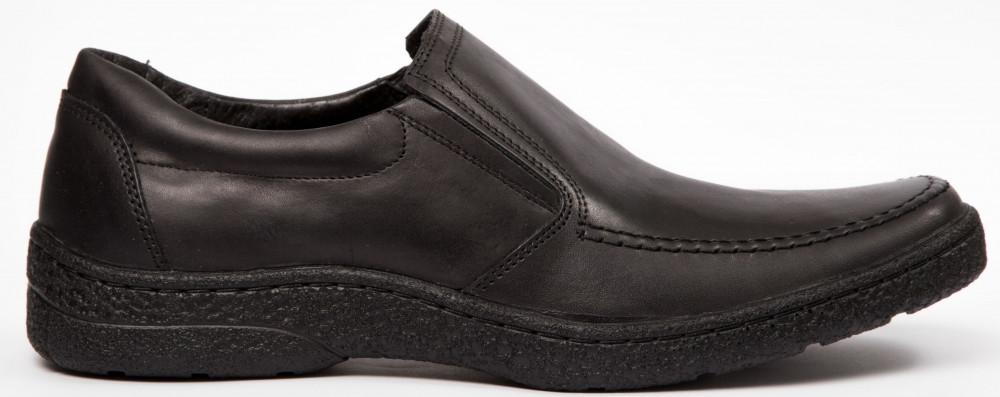 Чоловічі шкіряні туфлі комфорт Konors Сlasic Leather