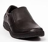 Мужские кожаные туфли комфорт Konors Сlasic Leather, фото 3