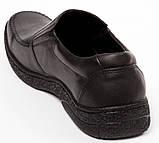 Мужские кожаные туфли комфорт Konors Сlasic Leather, фото 4
