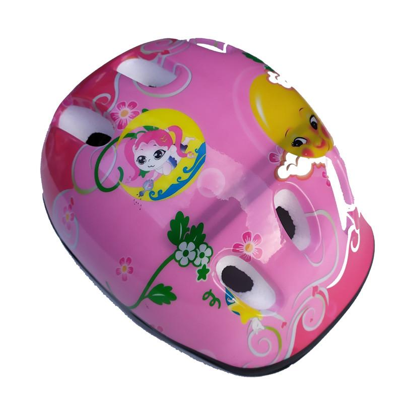 Шлем детский DN HS-45-68 Мультик, розовый