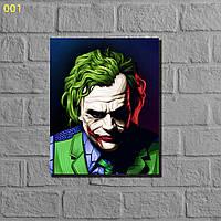 "Фотокартины на холсте""Джокер и Харли"" 40х50см, фото 1"