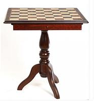 Шахматное поле (стол), бокс с местом для укладки шахмат Nigri Scacchi