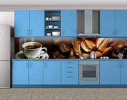 Кухонный фартук Кофейный аромат кофе, Кухонный фартук с фотопечатью, Еда, напитки, коричневый