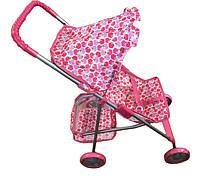 Коляска для куклы Kronos Toys 9304-1 Розовый int9304-1, КОД: 961688