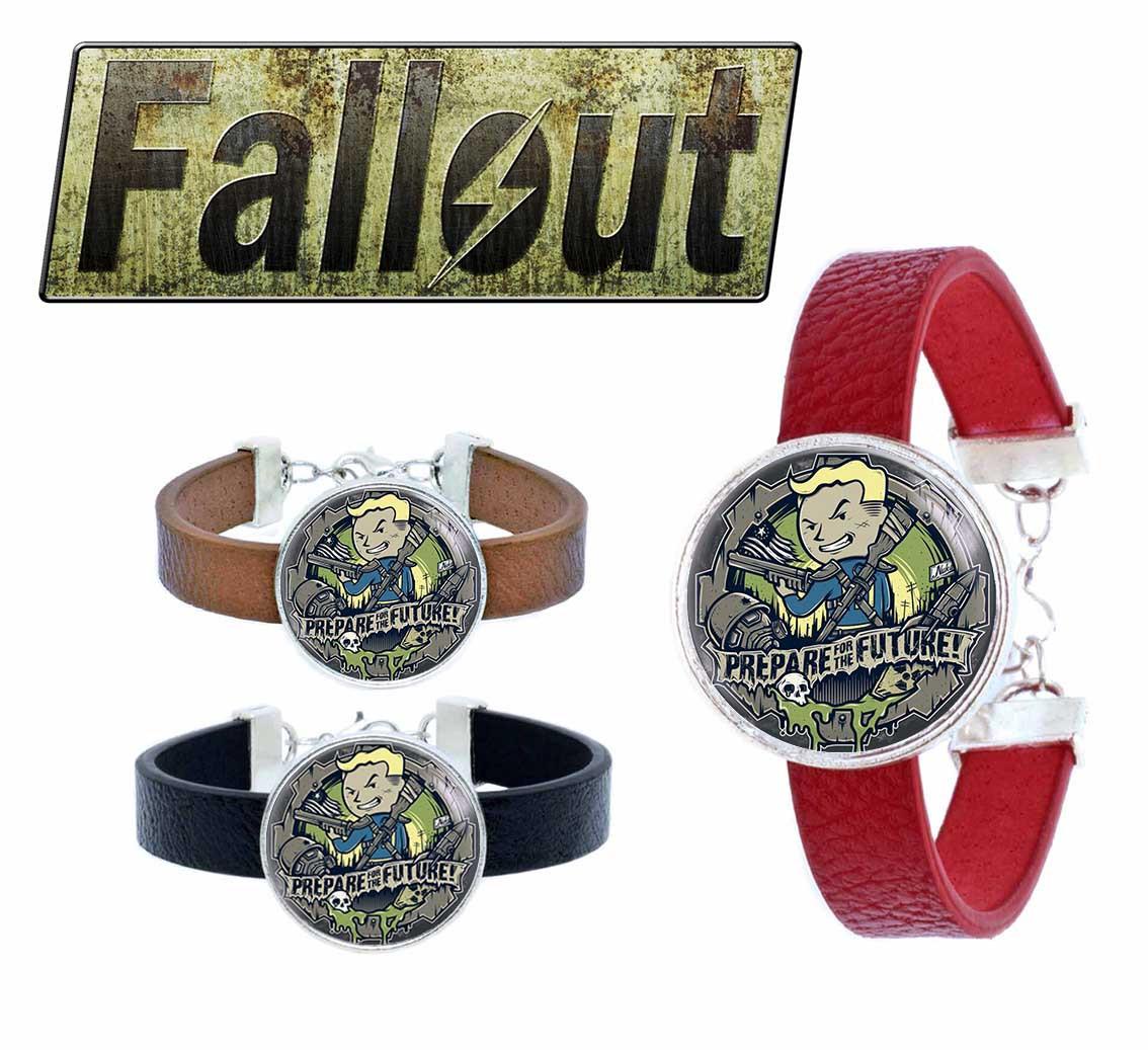 Браслет будущее Волт-Бой Фаллаут / Fallout