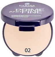 Компактна пудра для обличчя Parisa Cosmetics Prime And Fine №02 Глибокий бежевий