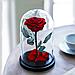 Роза в колбі з LED підсвічуванням МАЛЕНЬКА 3540VJ, фото 3