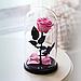 Роза в колбі з LED підсвічуванням МАЛЕНЬКА 3540VJ, фото 4