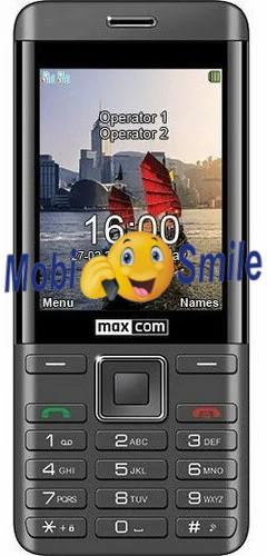 Мобильный телефон Maxcom MM236 Black-Silver Гарантия 12 месяцев