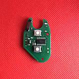 Корпус автоключа для OPEL (ОПЕЛЬ) Movano, Vivaro 2 кнопки, лезвие NE 73, с чипом id 46 частота 433 mhz, фото 3